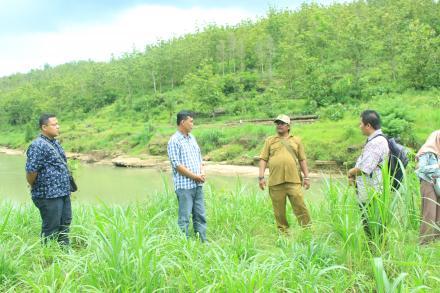 Survey Lokasi Pembangunan Destinasi Wisata Sendang dan Sumur Banyuurip oleh Bappeda Kab.Bantul